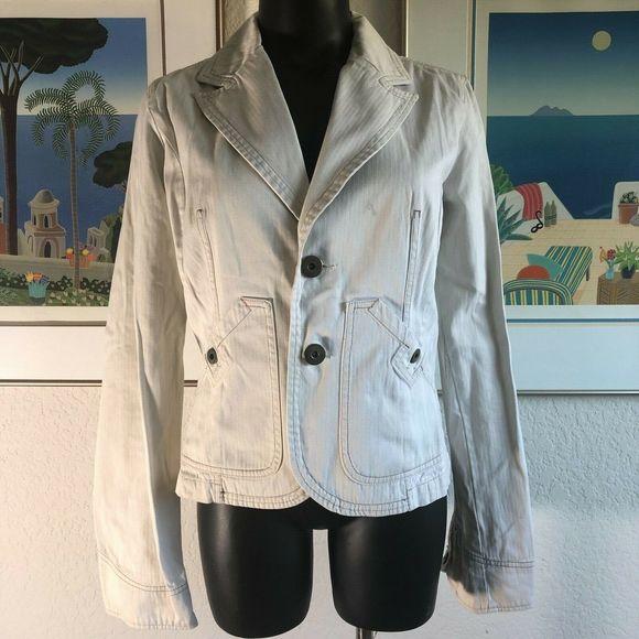 Diesel Blazer Cotton Double Stitch Jacket Medium